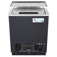 Avantco GF25-HC 26 inch Black Glass Froster / Plate Chiller - 115V