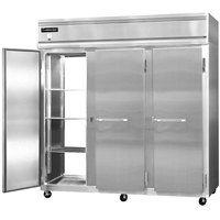 Continental Refrigerator 3R-SA-PT 78 inch Solid Door Pass-Through Refrigerator