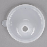 GET SN-105-CL Single Opening Clear Polypropylene Lid - 24/Case