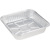 Durable Packaging 1100-30 9 inch Square Foil Cake Pan   - 500/Case