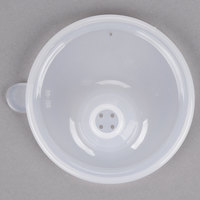 GET SN-106-CL Perforated Opening Clear Polypropylene Lid - 24/Case