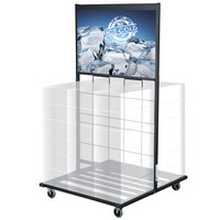 Beverage Can Display - 32 inch x 34 1/2 inch x 61 1/2 inch