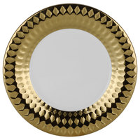 10 Strawberry Street CAIRO-4-GLD Cairo 8 inch Gold Round Salad Plate   - 24/Case