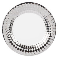 10 Strawberry Street CAIRO-4-SLV Cairo 8 inch Silver Round Salad Plate - 24/Case