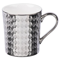 10 Strawberry Street CAIRO-28-SLV Cairo 12 oz. Silver Mug   - 36/Case