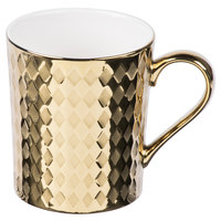10 Strawberry Street CAIRO-28-GLD Cairo 12 oz. Gold Mug - 36/Case