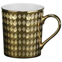 10 Strawberry Street CAIRO-28-GLD Cairo 12 oz. Gold Mug - 36/Case