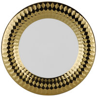 10 Strawberry Street CAIRO-1-GLD Cairo 10 1/2 inch Gold Round Dinner Plate   - 18/Case
