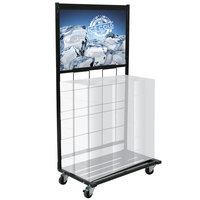 Beverage Can Display - 32 inch x 17 inch x 61 1/2 inch