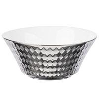 10 Strawberry Street CAIRO-7-SLV Cairo 16 oz. Silver Round Cereal Bowl - 48/Case