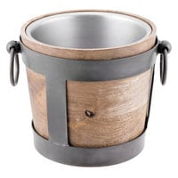 10 Strawberry Street TELL-8WINEBKT Telluride 1.5 Qt. Natural Wood Wine / Ice Bucket