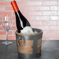 10 Strawberry Street TELL-8WINEBKT Telluride 1.5 Qt. Natural Wood Wine / Ice Bucket