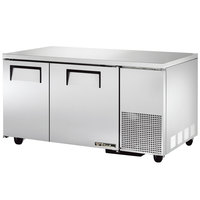 True TUC-60-32 60 inch Deep Undercounter Refrigerator with Two Doors