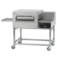 Lincoln Impinger II 1100 Series Ventless Single Electric Conveyor Oven Package - 240V, 10 kW, 1 Phase