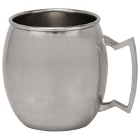 10 Strawberry Street SS-MULEMUG 16 oz. Stainless Steel Moscow Mule Mug