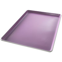 Chicago Metallic 60850 Allergen Management Half Size 18 Gauge Aluminum Sheet Pan - 12 3/4 inch x 12 7/8 inch