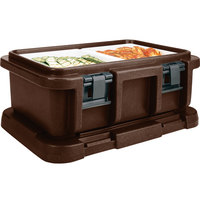 Cambro UPC160131 Dark Brown Camcarrier Ultra Pan Carrier - Top Load for 12 inch x 20 inch Food Pan
