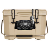 1 Faucet Tan 20 Qt. Grizzly Jockey BrewBox with 75' Coil
