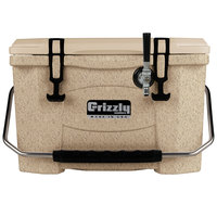 Grizzly Cooler 9090 1 Faucet Sandstone 20 Qt. Jockey BrewBox with 75' Coil