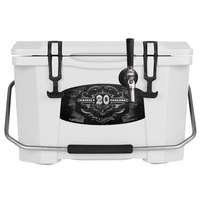 1 Faucet White 20 Qt. Grizzly Jockey BrewBox with 75' Coil