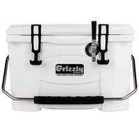 Grizzly Cooler 9090 1 Faucet White 20 Qt. Jockey BrewBox with 75' Coil