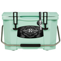 1 Faucet Seafoam Green 20 Qt. Grizzly Jockey BrewBox with 75' Coil