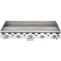 Vulcan 960RX-24 Natural Gas 60 inch Griddle with Snap-Action Thermostatic Controls - 135,000 BTU