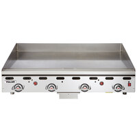 Vulcan 924RX-24 Natural Gas 24 inch Griddle with Snap-Action Thermostatic Controls - 54,000 BTU