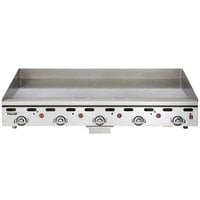 Vulcan 960RX-30 Natural Gas 60 inch Griddle with Snap-Action Thermostatic Controls and Extra Deep Plate - 135,000 BTU