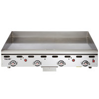 Vulcan 948RX-30 Natural Gas 48 inch Griddle with Snap-Action Thermostatic Controls and Extra Deep Plate - 108,000 BTU