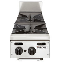 Vulcan VHP212 Natural Gas 12 inch 2 Burner Countertop Range - 60,000 BTU
