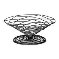 Tablecraft BK194 Artisan Round Appetizer Wire Cone Basket - 9 inch x 4 inch
