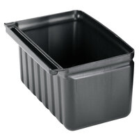 Cambro BC331KDSH110 2.5 Gallon Black Silverware Holder