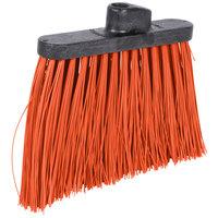 Carlisle 3686824 Duo-Sweep Heavy-Duty Angled Broom Head with Unflagged Orange Bristles