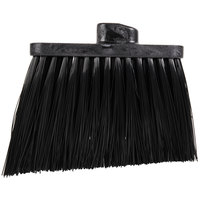 Carlisle 3686803 Duo-Sweep Heavy-Duty Angled Broom Head with Unflagged Black Bristles