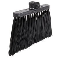 Carlisle 3686803 Duo-Sweep 12 inch Heavy Duty Angled Broom Head with Black Unflagged Bristles