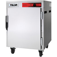 Vulcan VPT7LL Pass-Through Half Size Insulated Heated Holding Cabinet with Lip Load Slides - 120V