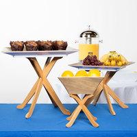 Tablecraft RFTT3BAM 3-Piece Fold-A-Way Bamboo Riser Set
