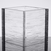 American Metalcraft AC555 Glacier 5 inch Square Acrylic Riser