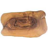 American Metalcraft OWM17 17 3/8 inch x 9 7/8 inch Olive Wood Organic Melamine Serving Board