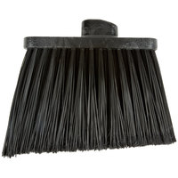 Carlisle 3686703 Duo-Sweep Medium Duty Angled Broom Head with Flagged Black Bristles