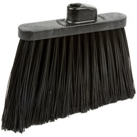Carlisle 3686703 Duo-Sweep 12 inch Medium Duty Angled Broom Head with Black Flagged Bristles