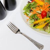 World Tableware 578 038 Fairfield 6 5/8 inch 18/0 Stainless Steel Heavy Weight Salad Fork - 36/Case