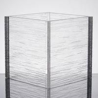 American Metalcraft AC777 Glacier 7 inch Square Acrylic Riser