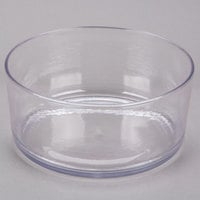 Carlisle MIN544607 Mingle 5 Qt. Clear Tritan Plastic Serving Bowl - 4/Case