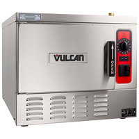 Vulcan C24EA3-1300 LWE 3 Pan Electric Countertop Convection Steamer - 208V, 8.5 kW