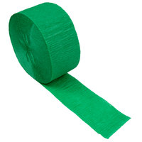 Creative Converting 078330 81' Emerald Green Streamer Paper - 12/Case