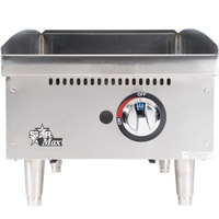Star 615MF 15 inch Manual Control Gas Countertop Grill - 28,300 BTU