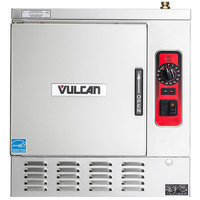 Vulcan C24EA5-1300 LWE 5 Pan Electric Countertop Convection Steamer - 208V, 15 kW