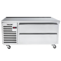Vulcan VR60 60 inch 2 Drawer Remote Cooled Refrigerated Chef Base